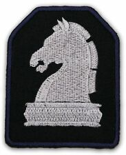"KNIGHT RIDER -Knight Industries 'Knight Chess Piece"" Embroidered Team Logo Patch"
