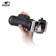 10x40 Hiking Concert Camera Lens Monocular+Phone Holder For iPhone 7 plus 6s SE