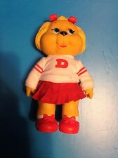 """Vintage 1984 Tomy GET ALONG GANG Dotty Vinyl Figure With Outfit Clothes 5.5"""""""