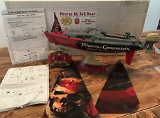 RC Boat Pirates of The Caribbean Dead Man's Chest 2006 Rare Collector