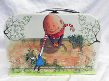 Alice Through the Looking Glass Suitcase Style Storage Box  - NEW