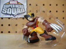 Marvel Super Hero Squad RARE Variant WOLVERINE Yellow Pants - Collector's Pk 2
