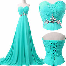 Lang bandeau Kleider Abendkleid Ballkleid Abendkleid Party Brautjungfer Chiffon