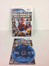 Marvel: Ultimate Alliance (Nintendo Wii, 2006) Complete Very Good Condition