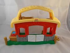 Fisher Price Little People Musical Sounds Stable toy