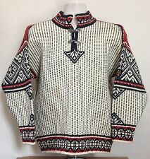 Dale Of Norway Classic Sweater M Off-White Pure New Wool Ski