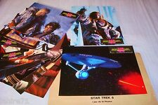 STAR TREK  6  !   jeu 12 photos cinema lobby cards science fiction