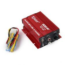 12V Mini 2CH Kinter HI-FI Stereo Car Power Amplifier CD DVD MP3 USB+ Cable