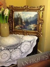 Opulent Vintage Antique Style Rococo Gold Picture Frame #3318