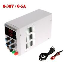 30V 5A Precision LED Digital DC Regulated Power Supply Adjustable Lab Grade K3O2