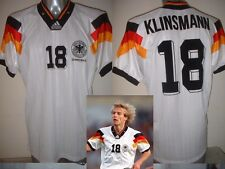 Germany Klinsmann Shirt Jersey Soccer Trikot Adidas Adult XL Deutscher Euro 92 W