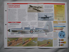 Aircraft of the World Card 42 , Group 4 - Fairey Firefly Mk 5/6/7