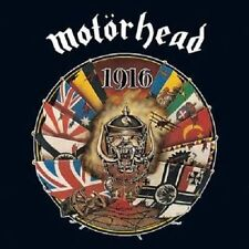 "MOTÖRHEAD - 1916 CD (1991) LEMMY / UK METAL-KULT / INCL.""R.A.M.O.N.E.S."""