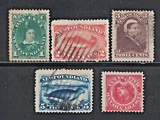 Canada/Newfoundland 45,48,51,54,56 - Used and Unused