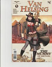 Van Helsing vs The Mummy #1 Cover A Zenescope Comic GFT NM Chen