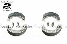 2x BRAKE SHOES for SECMA / FUNTECH  Qpod Fun 50 (Trike) FRONT   VMS-07 (x2)