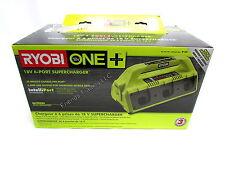 Ryobi ONE+ 18V 18 Volt 6 Port & USB Supercharger Battery Charger P135 BRAND NEW