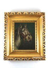 Gemälde Pferd Öl auf Pappe