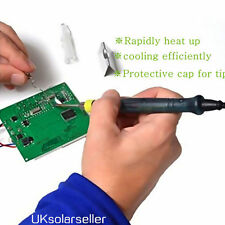 Mini Portable USB 5V 8W Electric Powered Soldering Iron Pen/Tip Touch Switch UF