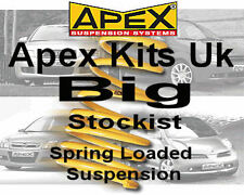 Kit de Muelles APEX bajar para VW Volkswagen Up 2011-On (AA) - 40mm 80-3200