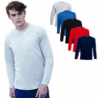 FRUIT OF THE LOOM SHIRTS LONGSLEEVE VALUEWEIGHT LANGARMSHIRT LONGSLEEVE T-SHIRT