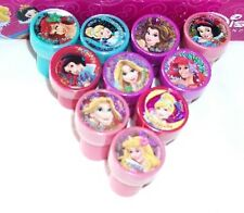 20 pcs Disney Princesses Self Inking Stamper Pencil Topper School Party Supply *