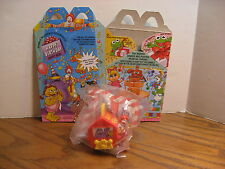 Ronald McDonald - Happy Birthday - Mc Donald's Under 3 Kids Meal Toy -1994