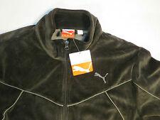 Puma Men Medium Warm Up Black Sports Jacket Windbreaker M Brand New with Tags