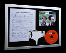 SAVAGE GARDEN Truly Madly Deeply LTD QUALITY CD FRAMED DISPLAY+FAST GLOBAL SHIP