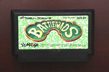 Famicom FC Battletoads Japan Nintendo game US Seller