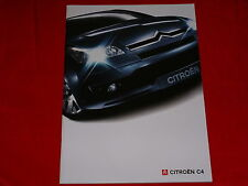 Citroen c4 sedán Coupé Advance style VTR confort Exclusive folleto 2/2005