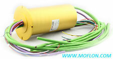 Automation Slip Rings,MZ120 from MOFLON,Body Diameter120mm slip ring with flange