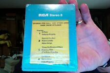 Hank Snow- Spanish Fire Ball & Other Great Hank Snow Stylings- mint 8 track tape