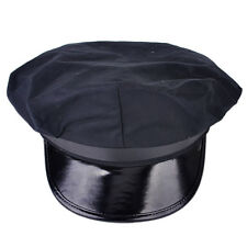 Sailor Octagon Hat Cap Yacht Boat Captain Skipper Nautical Costume Cosplay Party