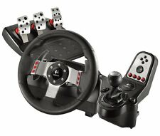 Logitech G27 Gaming Racing Wheel with Pedal Shift Gear sets for PC/PS2/PS3 - UD