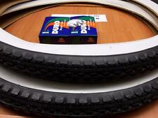 [2] 24'' X 2.125  DIAMOND WHITEWALL BICYCLE TIRES & [2] TUBES  CRUISERS