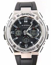 Casio Men G-Shock Stainless Stel Touch Solar Ana/Digital Metal Watch GSTS110-1A