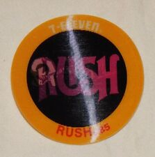 RARE 1985 7 11 Seven Eleven Slurpee Coin Rush Rock N Roll flicker coin