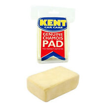 KENT CAR CARE GENUINE CHAMOIS LEATHER DEMISTER PAD WINDSCREEN MIRROR WINDOW FOG