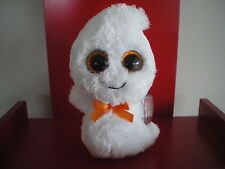 Ty Beanie Boo GHOSTY the ghost 6  inch NWMT. SPARKLY EYES VERSION - hard to find