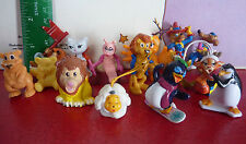 Special Lot of 15 PVC Toys ! Miscellaneous Lot from Kinder or Else