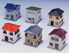 Greenmax No.2137 House Set (6 houses) (1/150 N scale)