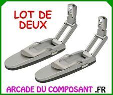 1 LOT DE 2 LAMPES DE LECTURE PLIABLE A LED - LISEUSE (15093-1)