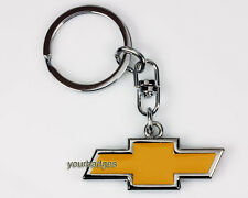 New Chrome Metal Chevrolet Badge Keyring key chain & presentation box