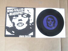 "GLENN DANZIG Who Killed Marilyn ? / Spook City PLAN9 7"" RARE MISFITS SAMHAIN KBD"