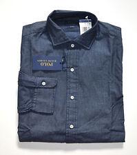 NWT Men's Ralph Lauren Casual Long-Sleeve Shirt, Dark Blue, M, Medium