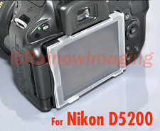 JJC Hard LCD Screen Cover Protector for Nikon D5200 DSLR US Shipping