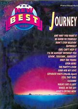 The New Best Of Journey Songbook sheet music Open Arms Don't Stop Believin'