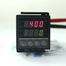 SSR Dual LED DC 220V Digital PID Temperature Controller REX-C100+ Thermocouple K