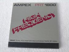 1 x Brand New Sealed Ampex PRT 1800 7in 1/4in Wide Reel To Reel Tape
